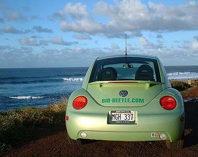 maui biodiesel ECO rental car